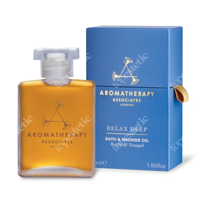 Aromatherapy Associates Relax Deep Bath & Shower Oil Głęboko relaksujący olejek do kąpieli 55 ml