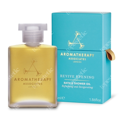 Aromatherapy Associates Revive Evening Bath & Shower Oil Wieczorny pobudzający olejek do kąpieli 55 ml