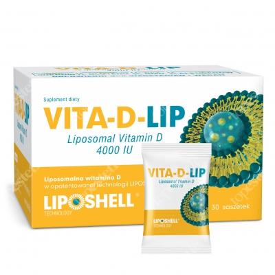 Ascolip Vita-D-LIP 4000 IU Liposomalna witamina D 30 saszetek