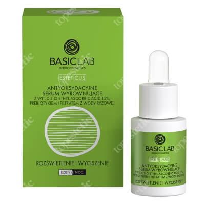 BasicLab Antyoksydacyjne Serum Wyrównujące Specjalistyczne serum z witaminą C 15% 15 ml