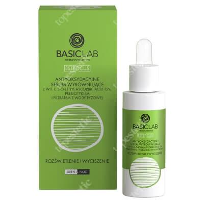 BasicLab Antyoksydacyjne Serum Wyrównujące Specjalistyczne serum z witaminą C 15% 30ml