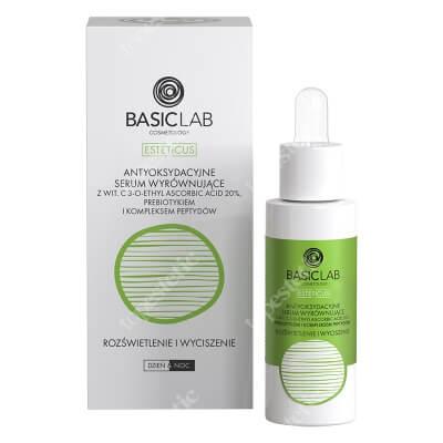 BasicLab Antyoksydacyjne Serum Wyrównujące Specjalistyczne serum z witaminą C 20% 30ml