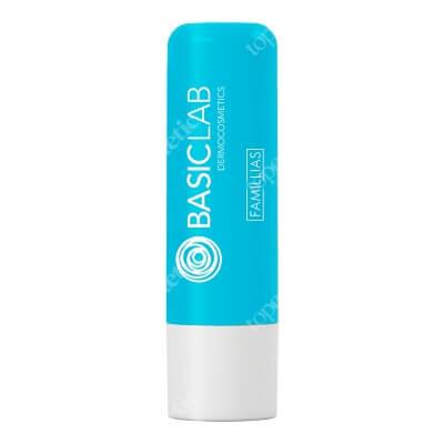 BasicLab Blue Lipstick Odżywczo-nawilżająca ochronna pomadka do ust 4 g