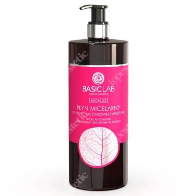 BasicLab Micellar Solution For Sensitive Skin Płyn micelarny do skóry naczynkowej i wrażliwej 500 ml