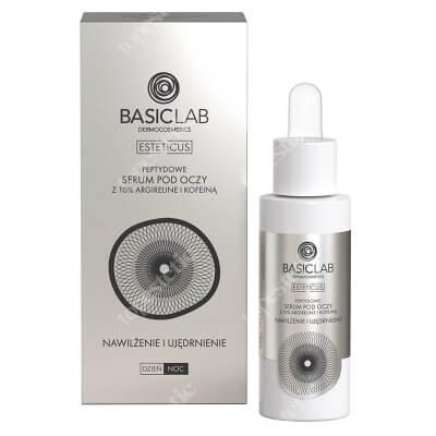 BasicLab Nawilżenie i Ujędrnienie Serum peptydowe pod oczy z argireliną 10%, 30 ml
