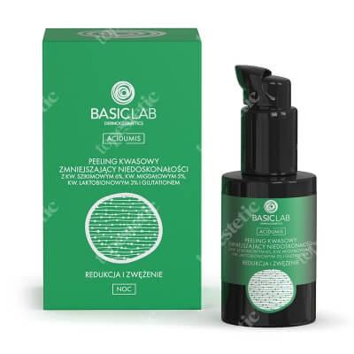 BasicLab Redukcja i Zwężenie Peeling kwasowy zmniejszający niedoskonałości 30 ml