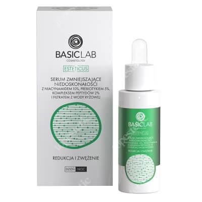 BasicLab Redukcja i Zwężenie Serum zmniejszające niedoskonałości z niacynamidem 10%, 30 ml