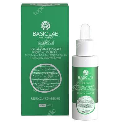 BasicLab Redukcja i Zwężenie Serum zmniejszające niedoskonałości z niacynamidem 5%, 30 ml