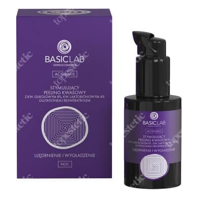 BasicLab Ujędrnienie i Wygładzenie Stymulujący peeling kwasowy 30 ml