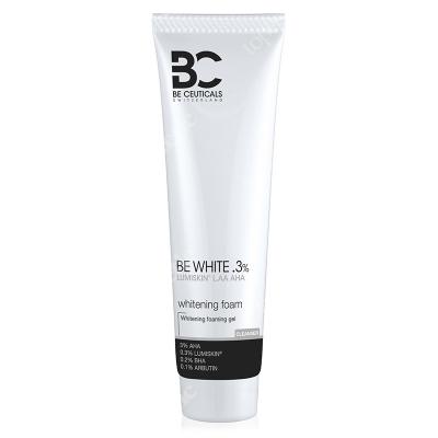 Be Ceuticals Be White Whitening Foam Pianka oczyszczająca 150 ml