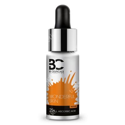 Be Ceuticals Wonderful Skin 25% L Ascorbic Acid Cudowna skóra - Kwas askorbinowy + kwas liponowy 15 ml