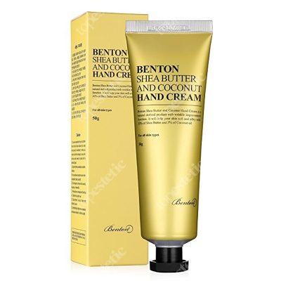 Benton Shea Butter and Coconut Hand Cream Krem do rąk 50 g
