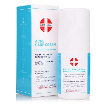 Beta Skin Acne Care Cream Krem do skóry trądzikowej, łagodzi zmiany skórne 75 ml