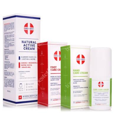 Beta Skin Bestseller Set ZESTAW Krem do suchej i szorstkiej skóry dłoni 75 ml + Krem do suchej i zrogowaciałej skóry stóp 75 ml + Krem łagodzący 150ml