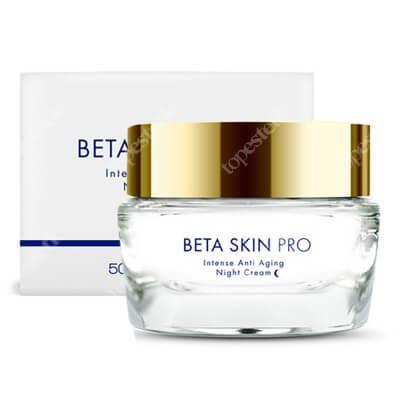 Beta Skin Beta Skin Pro Intense Anty Aging Night Cream Krem na noc przeznaczony dla cery dojrzałej i wymagającej 50 ml