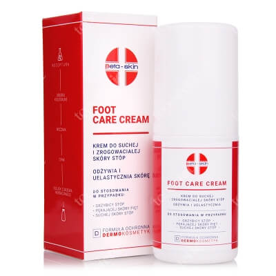 Beta Skin Foot Care Cream Krem do suchej i zrogowaciałej skóry stóp 75 ml