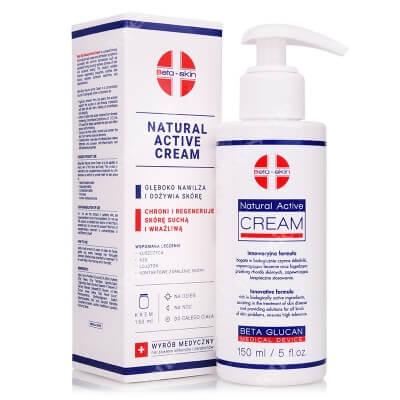 Beta Skin Natural Active Cream Krem łagodzący przebieg chorób skórnych 150 ml