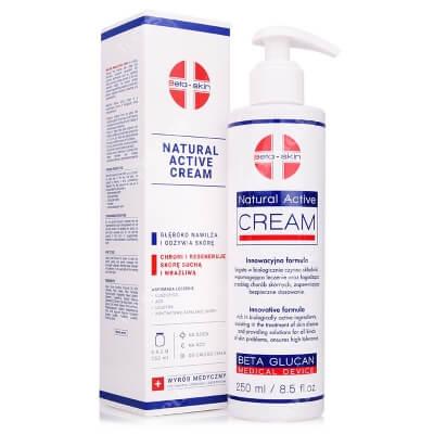 Beta Skin Natural Active Cream Krem łagodzący przebieg chorób skórnych 250 ml