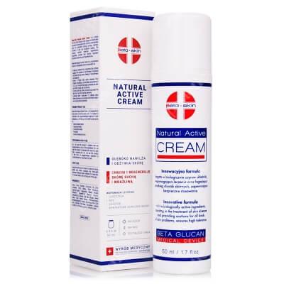 Beta Skin Natural Active Cream Krem łagodzący przebieg chorób skórnych 50 ml