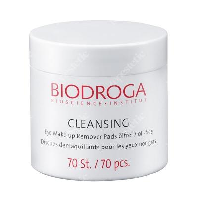 Biodroga Bioscience Eye Make Up Remover Pads Oil Free Beztłuszczowe płatki do demakijażu oczu 70 szt.