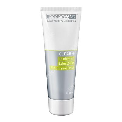 Biodroga MD Blemish Balm Cream 01 SPF 15 Krem typu BB 01 sand 75 ml