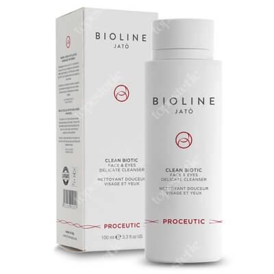 Bioline Jato Clean Biotic Face & Eyes Delicate Cleanser Preparat oczyszczający do twarzy i oczu 100 ml