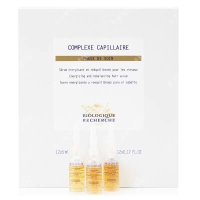 Biologique Recherche Complexe Capillaire Lecznicze serum seboregulujące do włosów tłustych 12 x 5 ml