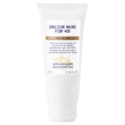 Biologique Recherche Emulsion Mains PIGM 400 Rozjaśniająca emulsja do rąk 75 ml