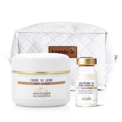 Biologique Recherche VG Derm Set ZESTAW Krem odżywczy do skóry suchej 50 ml + Serum nawilżające i odżywcze 8 ml + Kosmetyczka