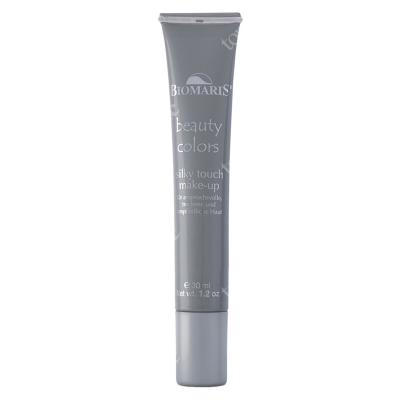 Biomaris Silky Touch Make-Up Medium Podkład pielęgnujący z kwasem hialuronowym (kolor naturalny) 30 ml