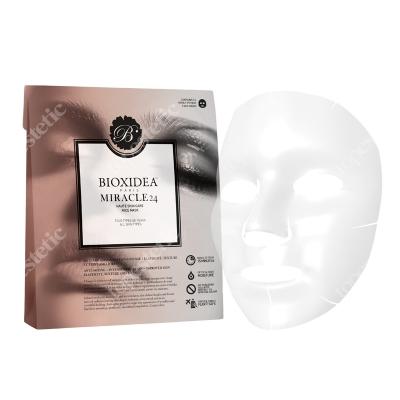 Bioxidea Miracle 24 Face Mask Maska na twarz nawilżająco - liftingująca 3 szt.