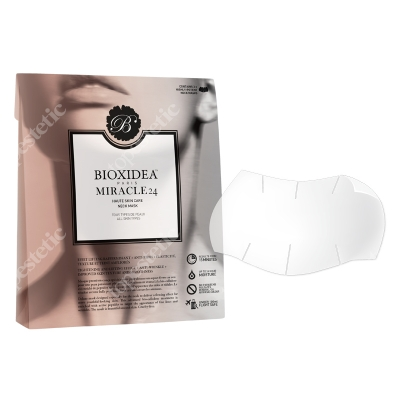 Bioxidea Miracle 24 Neck Mask Maska na szyję 3 szt.