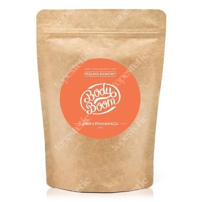 Body Boom Ognisty Duet Imbir & Pomarańcza Peeling kawowy 200 g
