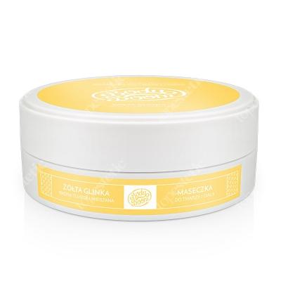 Body Boom Żywiołowa Dama Glinka żółta 200 g