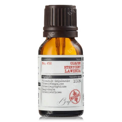 Bosqie Essential Oil No.452 Naturalny olejek eteryczny - Lawenda 10 ml