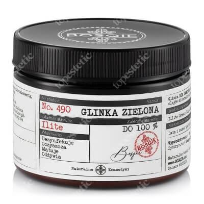 Bosqie Green Clay No.490 Glinka zielona 150 g