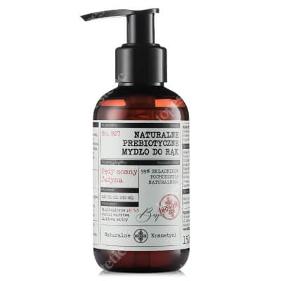 Bosqie Natural Hand Soap No.827 Naturalne prebiotyczne mydło do rąk - pędy sosny i jeżyna 150 ml