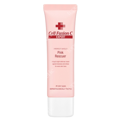 Cell Fusion C Expert Pink Rescuer Krem chroni skóręprzed nadmiernym działaniem stresu i światła niebieskiego 50 ml