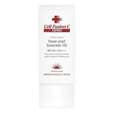 Cell Fusion C Expert Power Proof Sunscreen 100 SPF50+, PA++++ Filtr przeciwsłoneczny - odporny na wodę i pył 50 ml