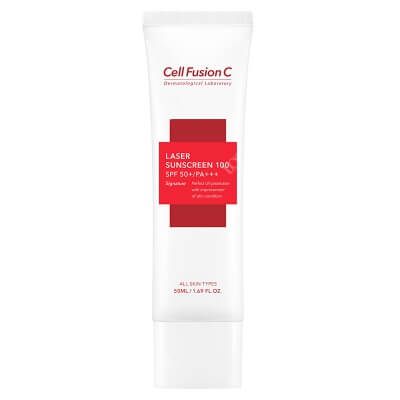 Cell Fusion C Laser Sunscreen 100 SPF 50+/PA+++ Filtr przeciwsłoneczny 50 ml