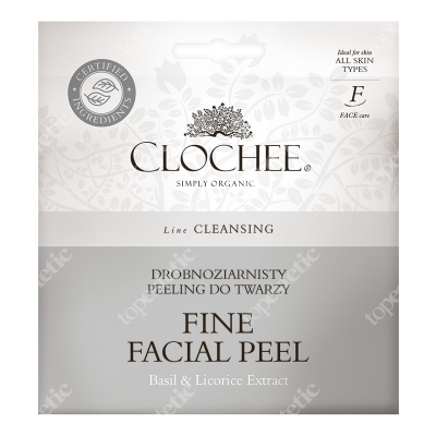 Clochee Fine Facial Peel Drobnoziarnisty peeling do twarzy 12 ml