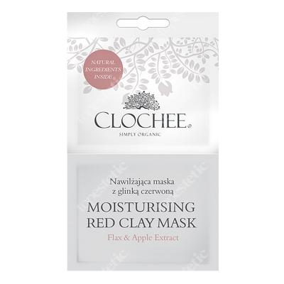 Clochee Moisturising Red Clay Mask nawilżająca maska z glinką czerwoną 2x6 ml