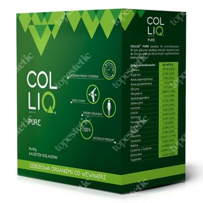 Colliq Colliq Pure Suplement diety, naturalny kolagen i witamina C, 14x10 g