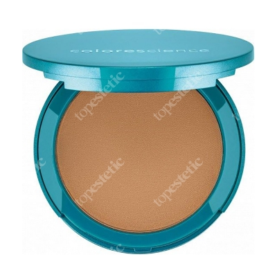 Colorescience Natural Finish Pressed Foundation SPF 20 Minerały prasowane w kompakcie kolor Tan Golden (Taste of Honey) 12 g