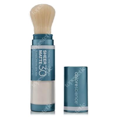 Colorescience Sheer Matte SPF 30 Sunscreen Brush Puder wchłaniający nadmiar sebum SPF 30/PA+++ 6 g