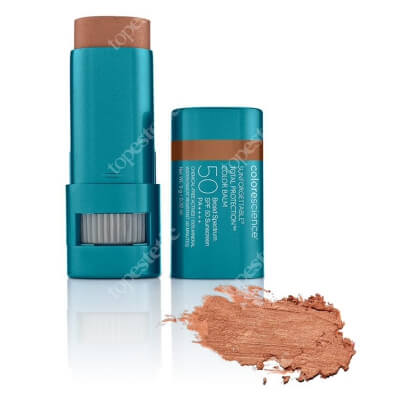Colorescience Sunforgettable Total Protection Color Balm Balsam do ust oraz policzków SPF50 (kolor Bronze) 9 g