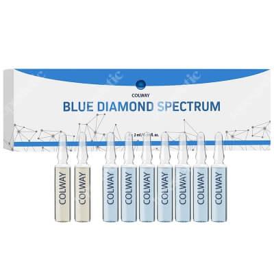 Colway Blue Diamond Spectrum Ampułki przygotowująco - pielęgnujące 9 x 2 ml