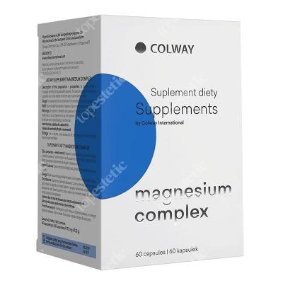 Colway International Magnesium Complex Kompozycja trzech form magnezu 60 szt.