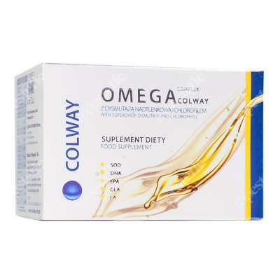 Colway International Omega complex Suplement diety 60 szt.