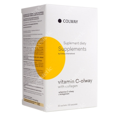 Colway International Vitamin C-olway With Collagen Witamina C z kolagenem 30 szt.
